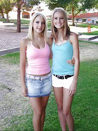 Pretty girls colorful and cute 9